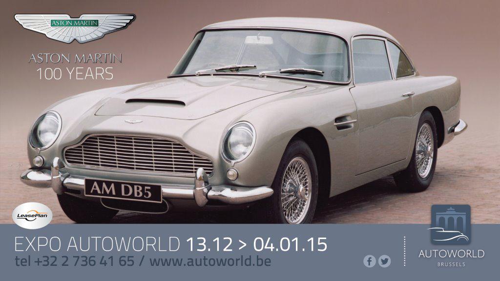 100 jaar van Aston Martin