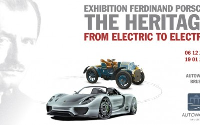 Ferdinand Porsche Expo, from electric to electric