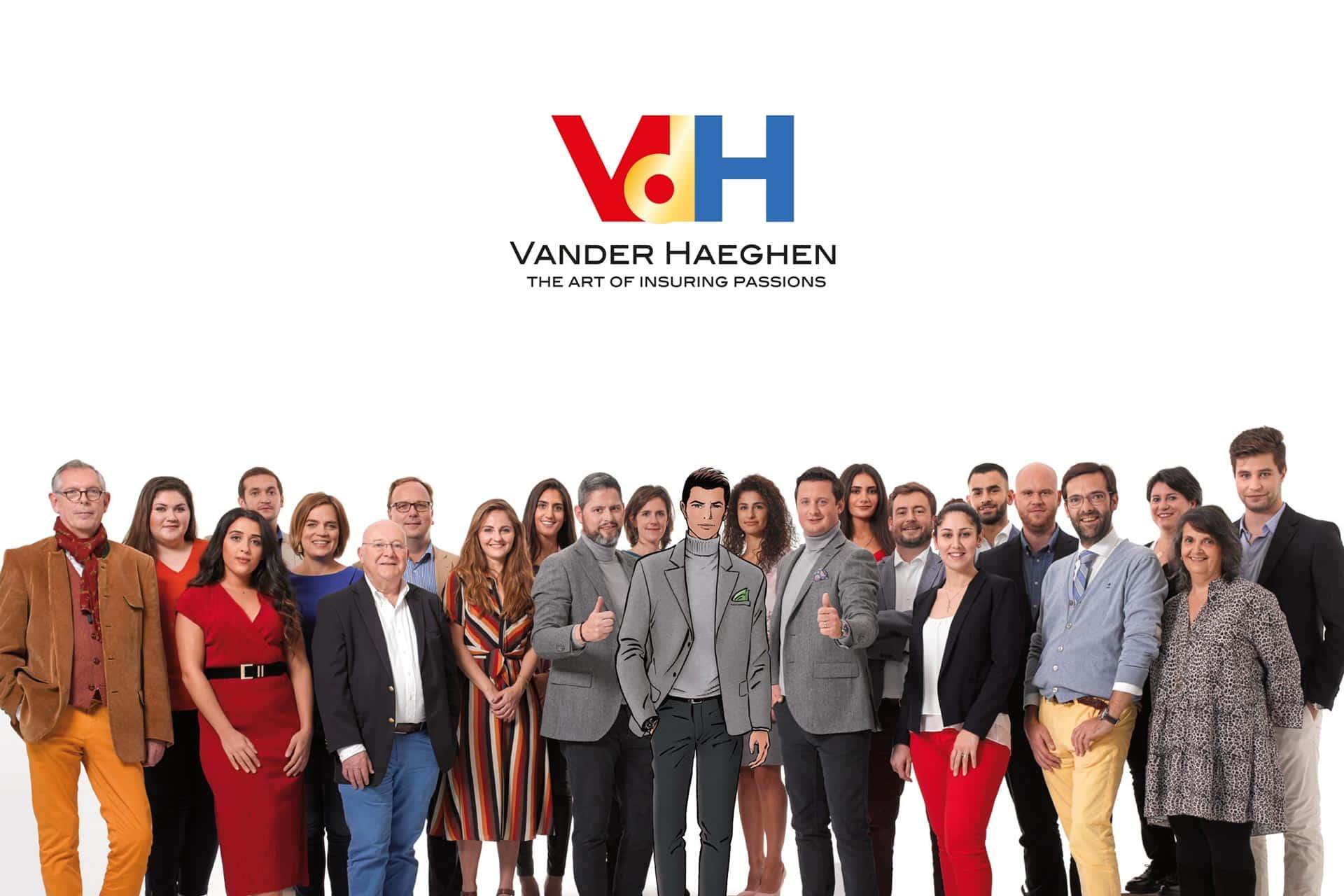 Photo entreprise Vander Haeghen VDH 2019 avec Jack V