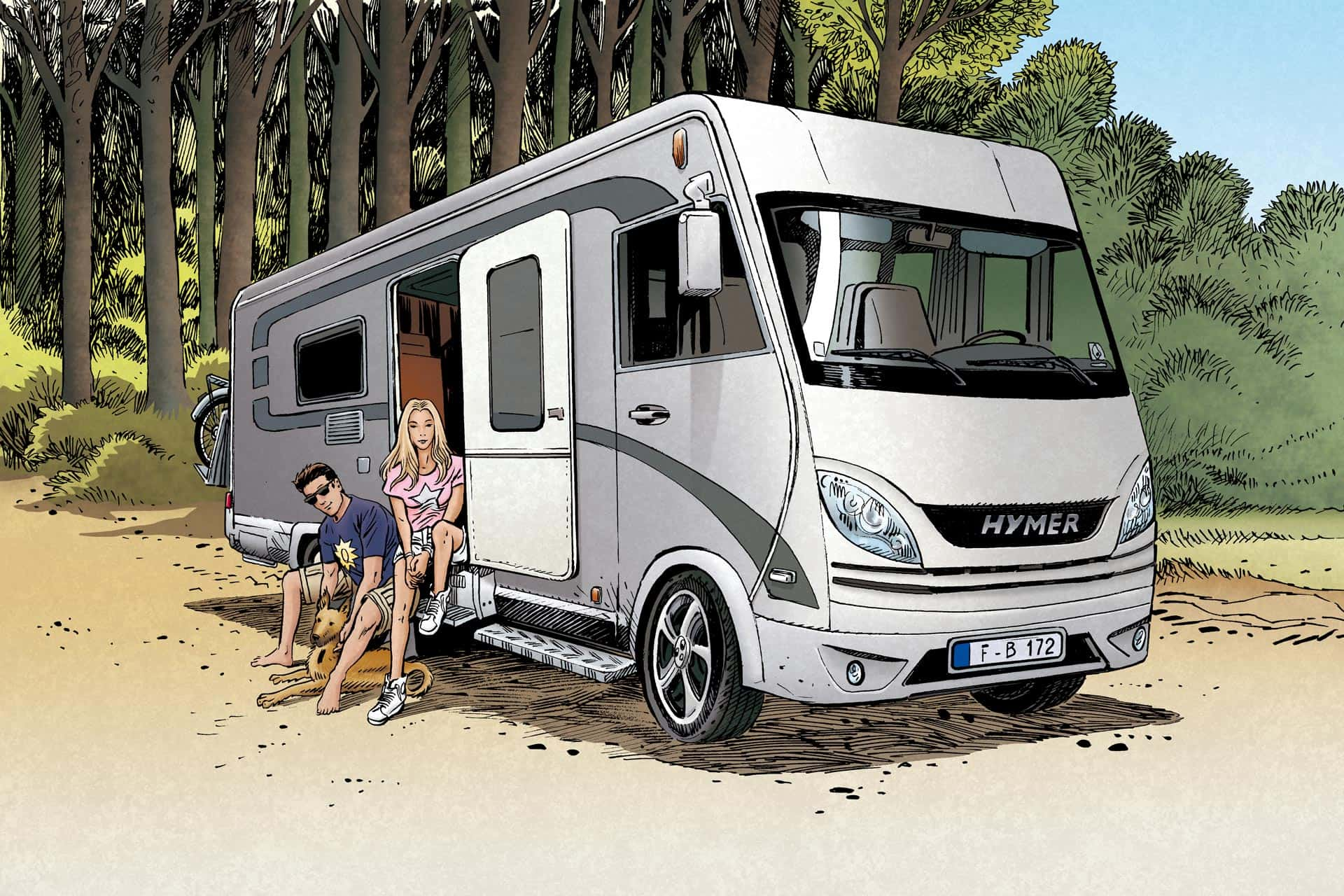 Motorhome Protection Vander Haeghen insurance
