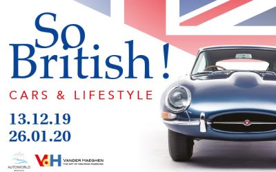 Concours exposition Autoworld « So British ! Cars & Lifestyle »