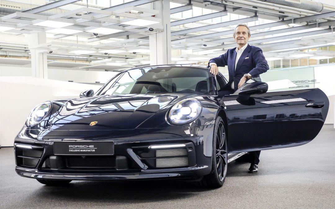 Porsche fête les 75 ans de Jacky Ickx