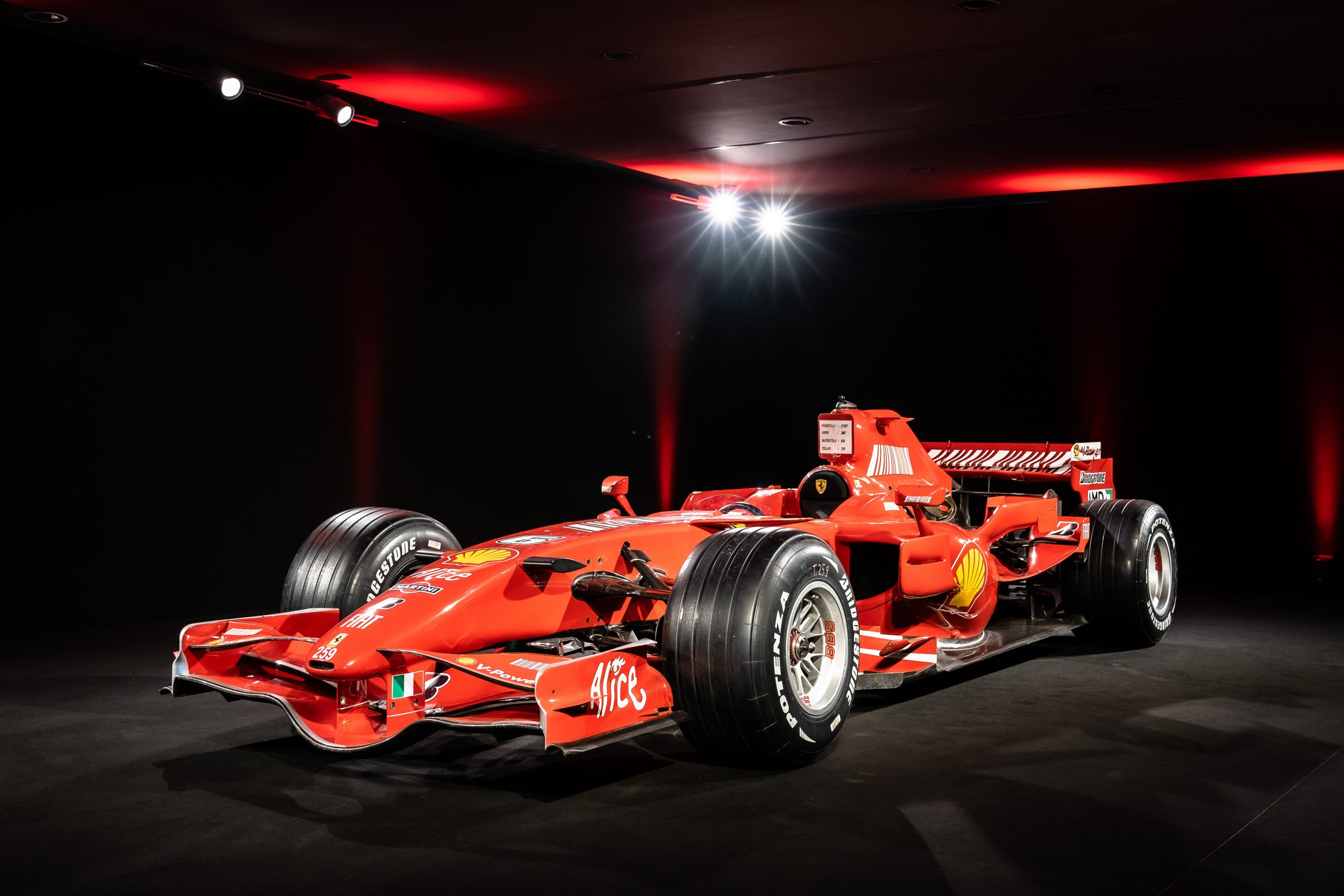 Ferrari F2007 - Front left