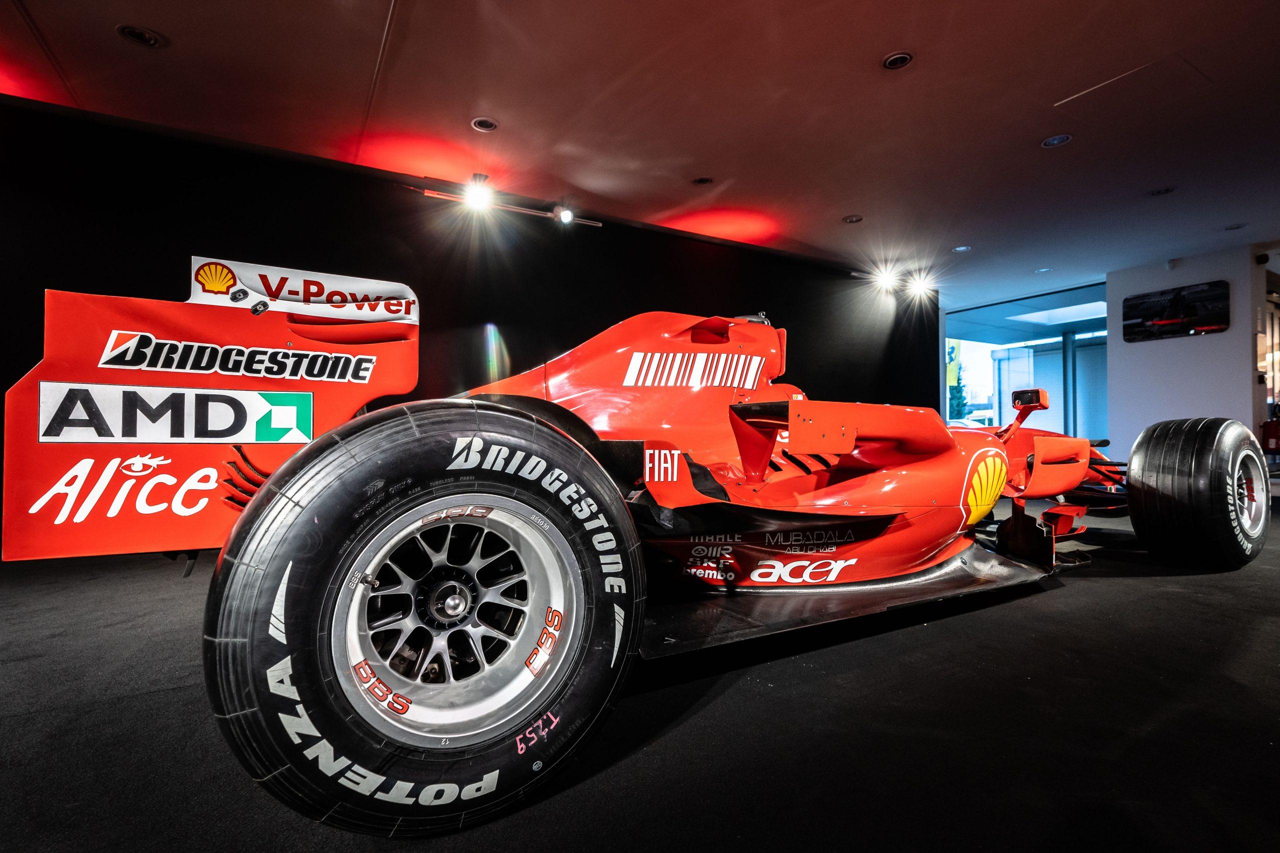 Ferrari F2007 - back right