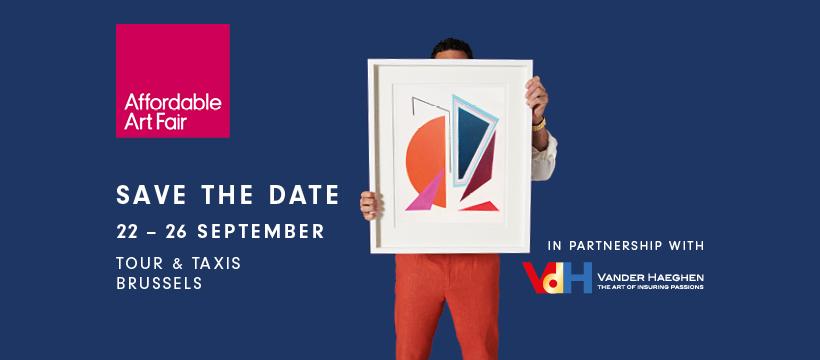 VdH, partner van de Affordable Art Fair, schenkt u gratis toegangstickets.